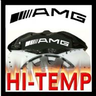 Mercedes AMG - Curved -  HIGH TEMPERATURE BRAKE CALIPER DECAL SET